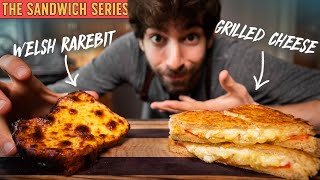 The BATTLE of the best Cheese Sandwich: 🇬🇧 vs 🇺🇸