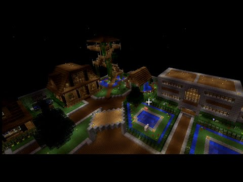 Minetime Skyblock: Tour of my island before the reset
