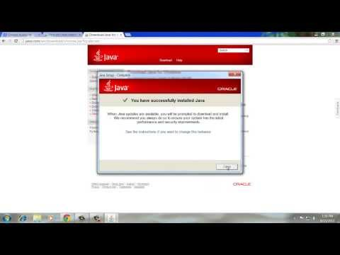 How to Install Java Plugin for Google Chrome Browser in Windows 7