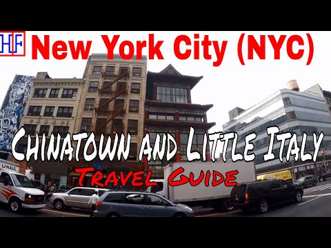 New York City (NYC) | Chinatown and Little Italy | Tourist Attractions | Episode# 9
