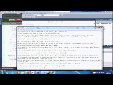 WCF Service Demo with Channel Factory on Client Side Part - 1
