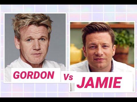 Gordon Ramsey Vs Jamie Oliver -Srambled Eggs