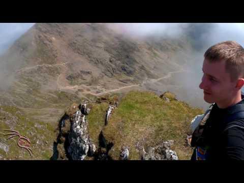 Amazing Landscapes of Mount Snowdon, Llanberis Path, Snowdonia, Wales