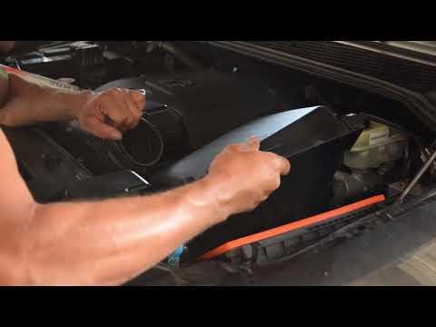 Nissan Armada / Frontier | Air Filter Install