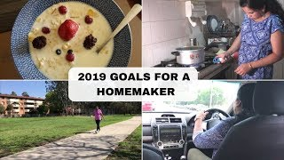 5 Goals For A HOUSEWIFE To Achieve In 2019 | Make Goals That Help You Lifelong