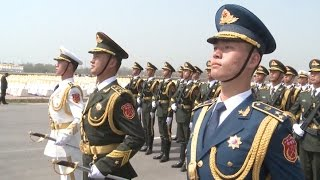 Chinese Contingent Participates in Pakistan Day Military Parade Rehearsal