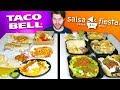 TACO BELL Vs SALSA FIESTA GRILL Fast Food Restaurant Taste Test