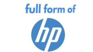Full Form of HP | Music Jinni