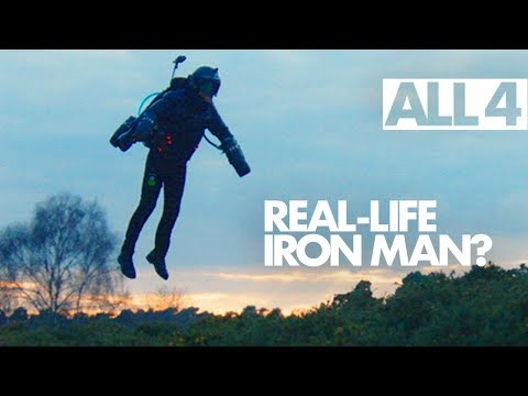 The Man Who Learnt to Fly - This Is A Real-Life Flying Iron Man Suit!!