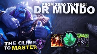 Download FROM ZERO TO HERO ON DR MUNDO! - Climb to Master | League of Legends Video