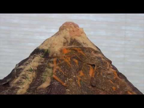 Watch How To Build A Real Life Volcano