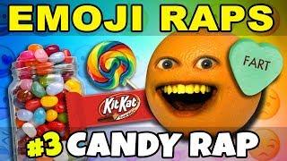Annoying Orange - EMOJI RAPS #3: CANDY! 🍭🍬🍫🍦
