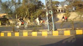 Lahore Garden Town View of Traffic