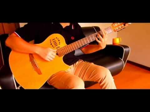 """(TAB) Yama no Susume Second Season """"Natsuiro Present"""" on Guitar 夏色プレゼント ソロギター"""