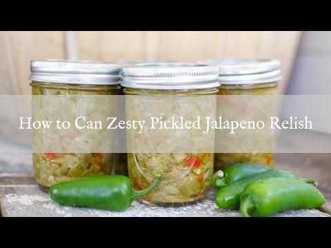 How to Make Zesty Jalapeno Relish
