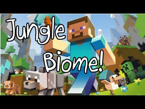 Minecraft Xbox 360: Jungle Biome! + Ocelot - Title Update 12 (TU12) Awesome Jungle Seed!
