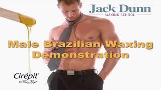 Full Male Brazilian Waxing - Learn male waxing with Jack Dunn Waxing School