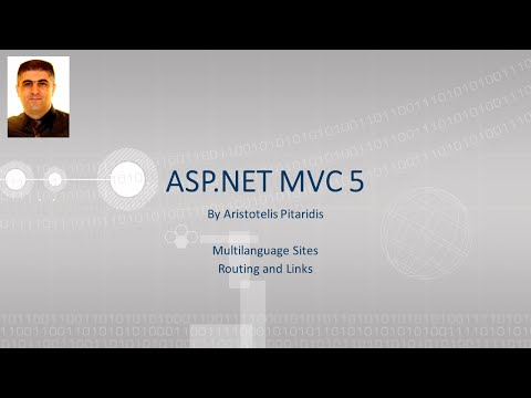 ASP.NET MVC 5 : 6.1 Multilanguage Sites - Routing and Links