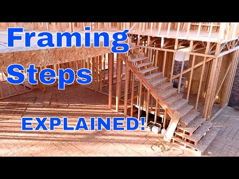 Step framing explained! How to build any staircase diy