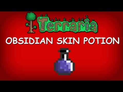 Terraria - Obsidian Skin Potion (Alchemy)