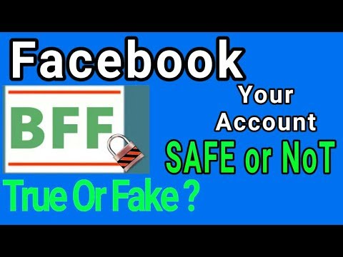 Type BFF on Facebook To Check FB Account Security in Hindi