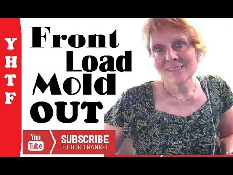Front Load Washing Machine Maintenance, Keeping Mold Out~ It Works! ~~~Nancy Gurish