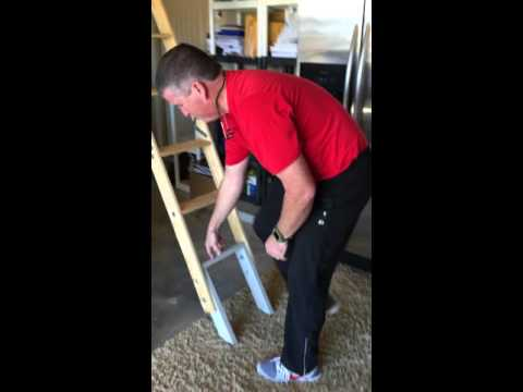 Pull down attic stair HACK