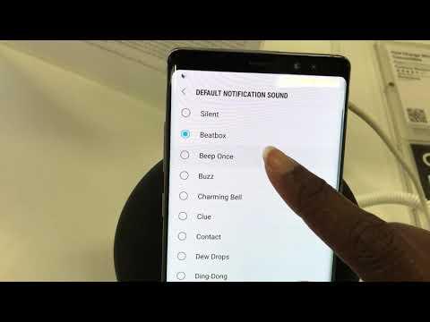 Samsung Galaxy Note 8 Notification Tones