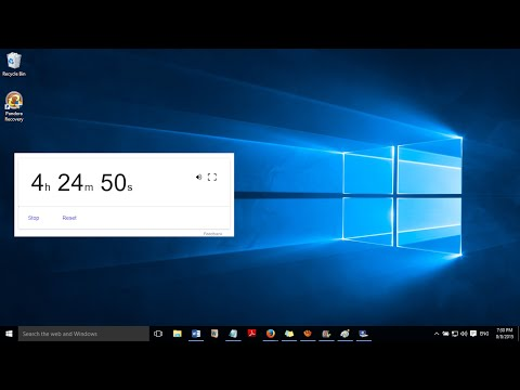 How to set alarm in laptop and pc with google.com