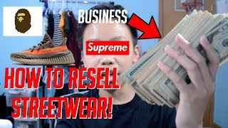 BEST WAY TO MAKE MONEY AS A KID OR TEENAGER! (HYPEBEAST!)