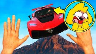 ¡CAEMOS AL VACIO! GTA 5 😱 AUTOS vs LOS COMPAS #1