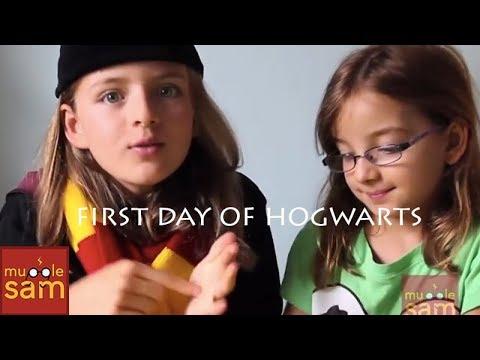 Harry Potter in Real Life - Sophia Got Her Hogwarts Letter!! First Day of School!! ⚡️Mugglesam