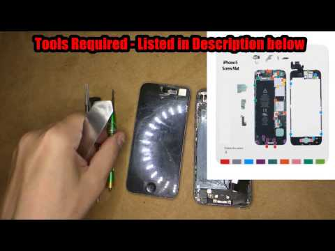 iPhone 5 Rear Housing / Middle Frame Replacement in 10 minutes