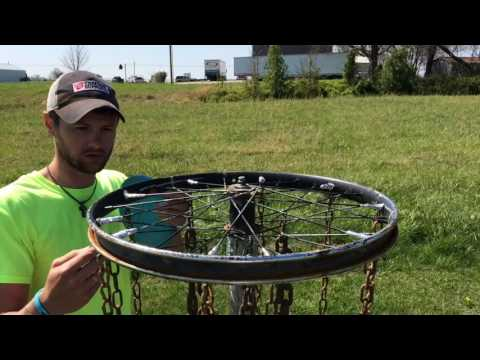 Homemade Disc Golf Basket( $11 basket)