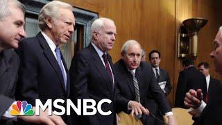 Ron Reagan Says 'John McCain Was Everything President Donald Trump Wasn't' | Hardball | MSNBC
