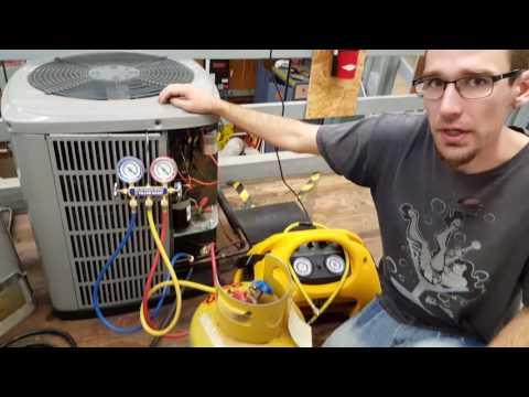 How to reclaim refrigerant