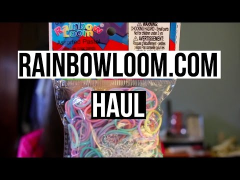 Rainbow Loom Webstore Haul!