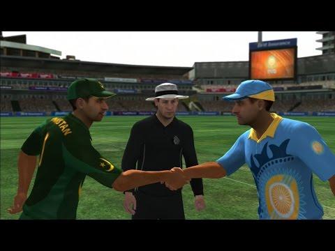 Pakistan vs India - International Cricket 2010 (PS3) - ODI (25 over) - HARD difficulty