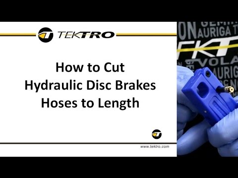 How to Cut Hydraulic Disc Brake Hoses to Length