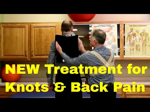 You Will Love This NEW Treatment For Knots & Back Pain (Upper, Mid, & Low Back Pain)