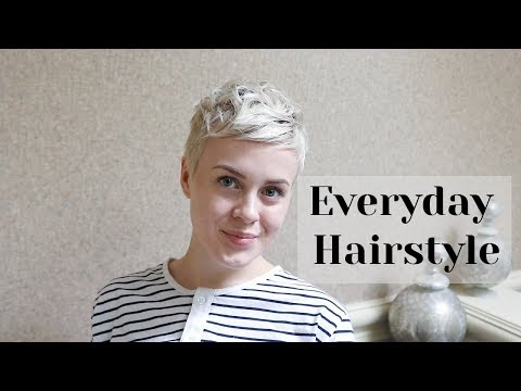 Air Dry Everyday Styling Routine / Pixie Cut