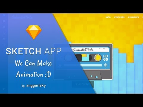 How to Make Animation inside of Sketch App