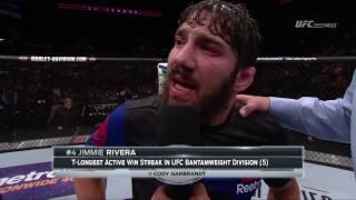 Fight Night Long Island: Jimmie Rivera Octagon Interview