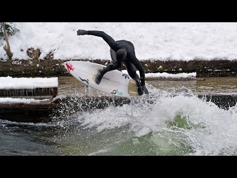 River Surfing the Eisbach in Munich | Made in Europe