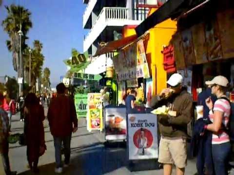 Venice Ca Boardwalk Muscle Beach Men + shopping