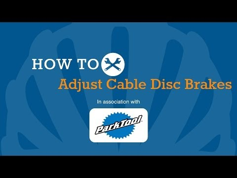 How To Adjust Cable Disc Brakes