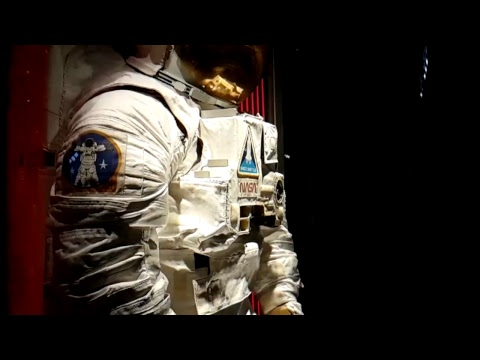 Space Center Houston - Spacesuits LIVE STREAM