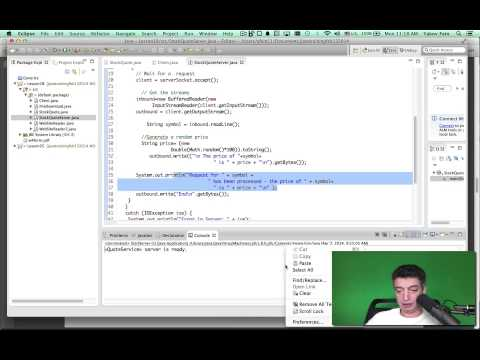 Intro to Java. Unit 10. Stock quotes with URL, Sockets, and RMI