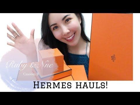Hermes Nausciaa Ring, Bastia, Kelly Belt, Cashmere Shawl, Jelly Rivage Sandal // 在希腊和新加坡爱马仕店扫货