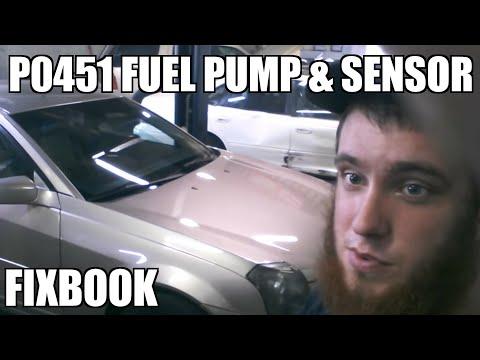 Evap Pressure Sensor P0451 Fuel Pump 03-07 Cadillac CTS Replacement